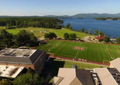 Aerial view of Brewster Academy