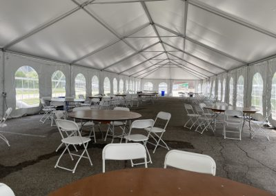 Tent at Brewster Academy